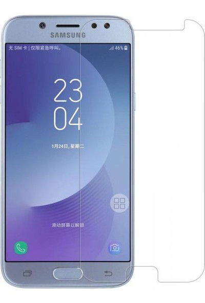 Lito 2.5D 0.33 mm Darbeye Dayanıklı Samsung J7 Pro Cam Ekran Koruyucu LT01-SM-J7PRO