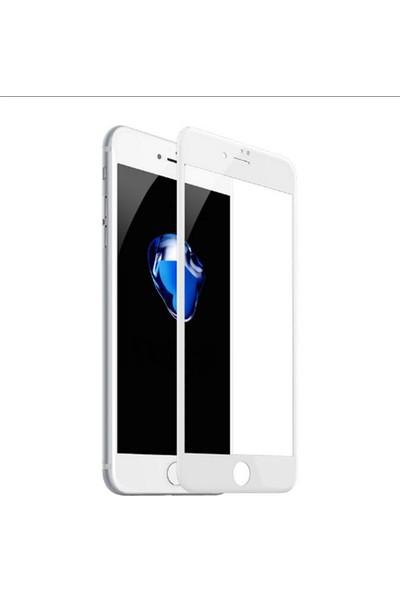 Lito 3D Full Cover iPhone 7/8 Plus Cam Ekran Koruyucu Ön / Beyaz LT05-IP7P-O-B