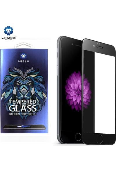 Lito Tempered Glass iPhone 6 / 6S Plus Cam Ekran Koruyucu Siyah LT03-IP6P-S
