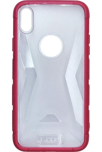 Lito Shockproof TPU Darbeye Dayanıklı iPhone X Kılıf Gülkurusu LT07-IPX-GK