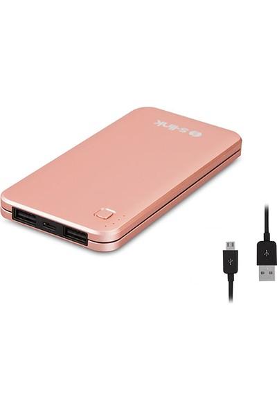 S-Link 10000 mAh Powerbank Taşınabilir Şarj Cihazı Rose Gold IP-G17-RG