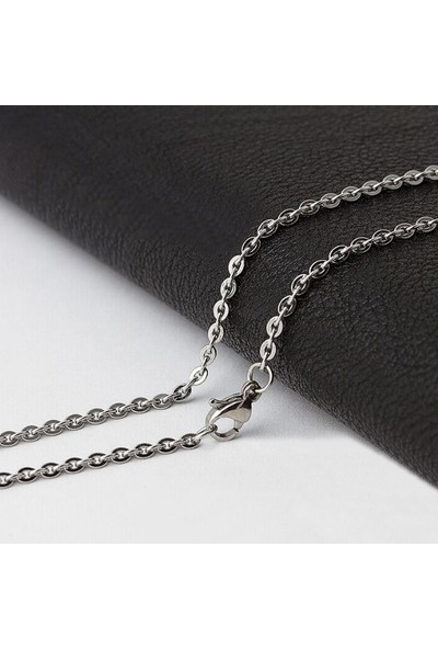 Chavin Gri Uzun 75 Cm. Erkek Çelik Zincir Dr38 2 Mm
