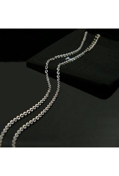 Chavin Gri Uzun 75 Cm. Erkek Çelik Zincir Dr38 4 Mm