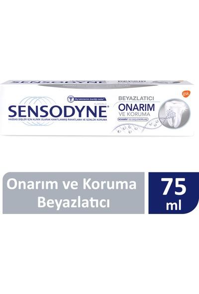 Sensodyne Onarım Ve Koruma Beyazlatıcı Diş Macunu 75 ml