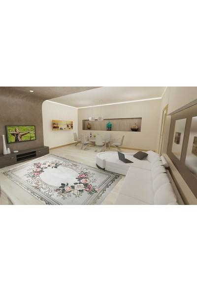 YenibiStil Piraye Lastikli Halı Örtüsü YGT5015 150x250