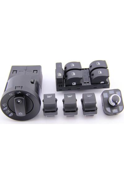 Wolcar Auid A4 2003 Model Kontrol Düğmeleri 6 Li Set