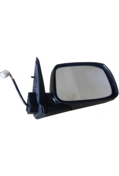 Ypc Isuzu D Max- Pick Up- 2007/2012 Kapı Aynası Sağ Elektrikli 6Pinli Uzun Sinyallı Siyah (Famella)
