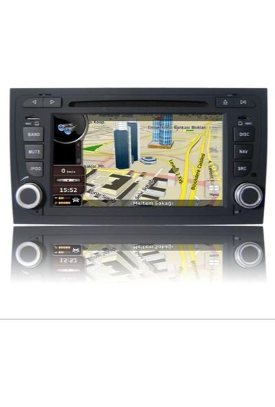 Navimex Audi A4(B7) 2004-2007 Navigasyon Multimedya Tv USB Oem