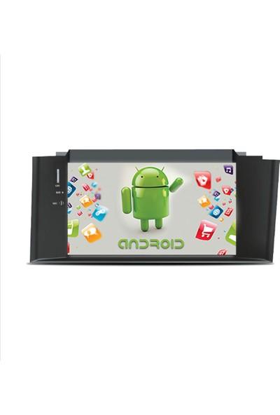 Navimex Citroen C4 2012-2014 Android Ram 4 GB Navigasyon Multimedya Tv USB Oem