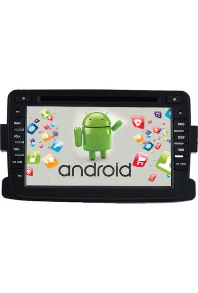 Navimex Dacia Duster Sandero Dokter Android Navigasyon Multimedya Tv USB Oem