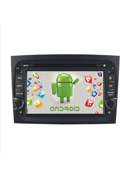 Navimex Fiat Doblo Android Ram 4 GB Navigasyon Multimedya Tv USB Oem