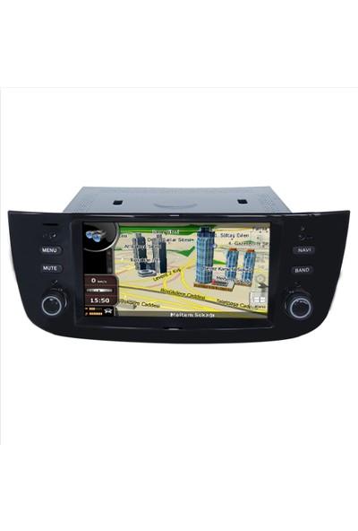 Navimex Fiat Yeni Linea / DVD Android Ram 4 GB Navigasyon Multimedya Tv USB Oem