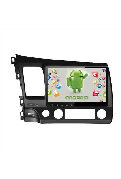 "Navimex Honda Civic 2011 10.1"" Android Ram 4 GB Navigasyon Multimedya Tv USB Oem"