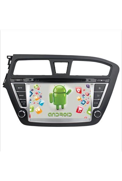 Navimex Hyundai İ20 Android Ram 4 GB Navigasyon Multimedya Tv USB Oem