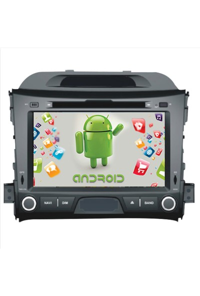 Navimex Kia Yeni Sportage Android Ram 4 GB Navigasyon Multimedya Tv USB Oem
