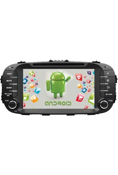 Navimex Kia Soul 2014-2017 Android Navigasyon Multimedya Tv USB Oem