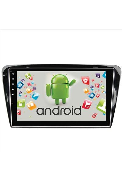 Navimex Skoda Octavia 2013 2015 Android Ram 4 GB Navigasyon Multimedya Tv USB Oem
