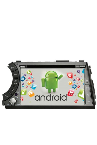 Navimex Ssangyong Action Android Ram 4 GB Navigasyon Multimedya Tv USB Oem