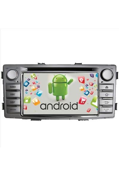 Navimex Toyota Hilux Android Ram 4 GB Navigasyon Multimedya Tv USB Oem