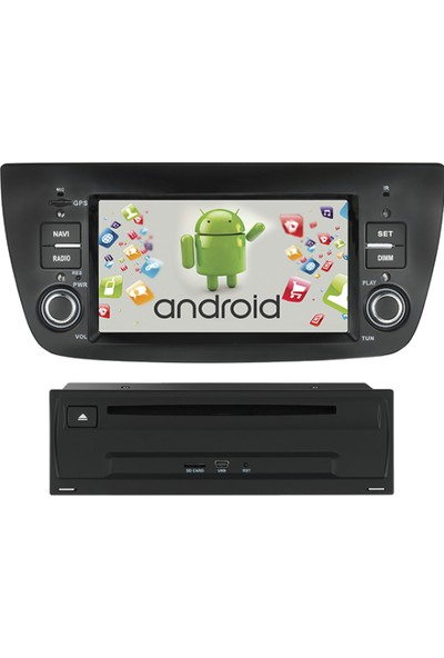 Kamasonic Fiat Doblo Android Navigasyon Multimedya Tv USB Oem