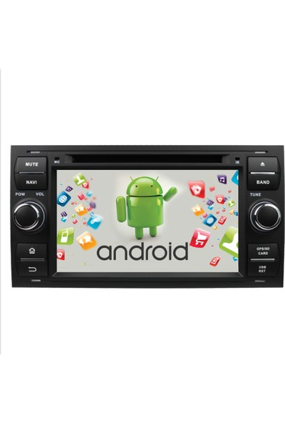 Kamasonic Ford Focus 2003-2006 Android Navigasyon Multimedya Tv USB Oem