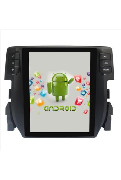 Kamasonic Honda Civic 2016 Android Navigasyon Multimedya Tv USB Oem
