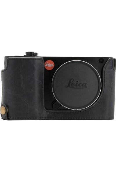 Megagear MG1283 Leica Tl2, Tl Hakiki Deri Kamera Çantası
