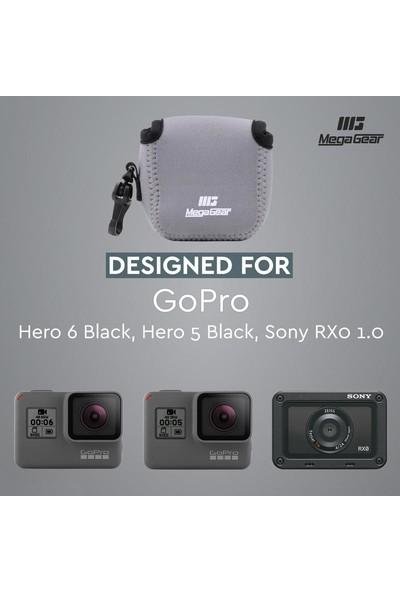 Megagear MG1314 Sony Rx0 1.0, Gopro Hero 5 Black, Hero 6 Black Neopren Kamera Kılıfı