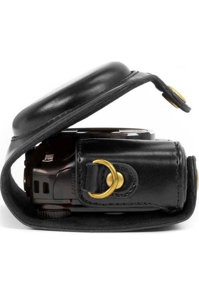 Megagear MG351 Canon Powershot Sx720 Hs Deri Kamera Çantası