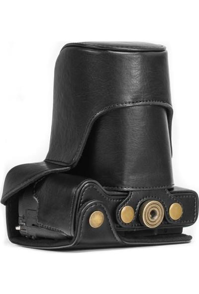 Megagear MG521 Canon Eos M3 (18-55Mm) Deri Kamera Çantası
