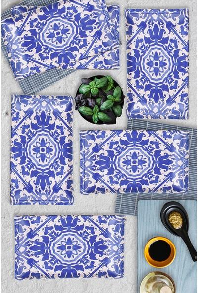 Keramika 6 Adet 30 Cm Anev Kobalt Selen Servis -17670
