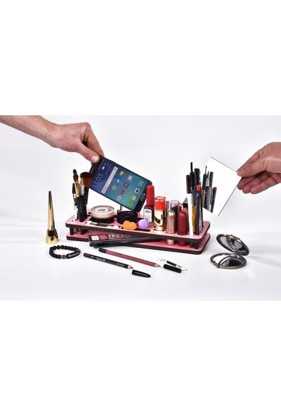 Ahşap Şehri Sihirli Kozmetik Organizeri