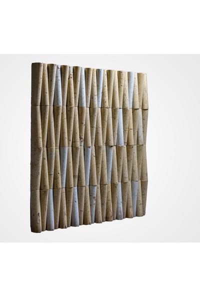 Kaptaş Kapadokya Doğal Taş Fileli Mozaik Ek07 Bambu