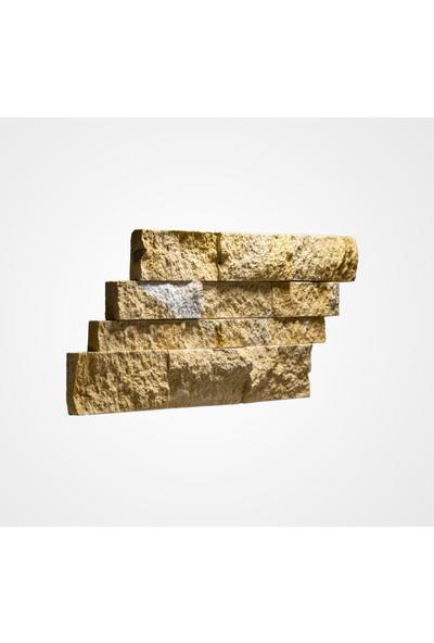 Kaptaş Kapadokya Doğal Taş Fileli Mozaik Ek16 Panel Patlatma