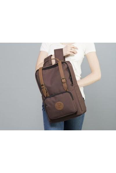 Fudela BKS Brown Backpack