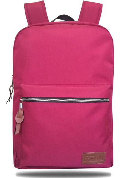 Fudela INQ Claret Red Backpack