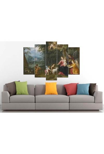Sibiro Dekoratif Yağlı Boya Görünüm Kanvas Tablo Klasik 80 x 125 cm - Azyyb68