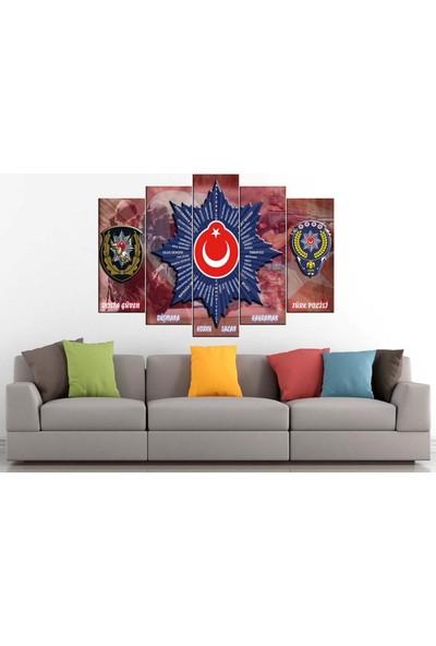 Sibiro Polis Kanvas Tablo 80 x 125 cm - Azyyn-280