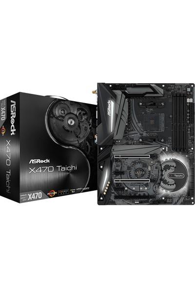 Asrock X470 Taichi Ryzen AMD X470 3466MHz DDR4 Soket AM4 ATX Anakart (ASRX470-TAICHI)