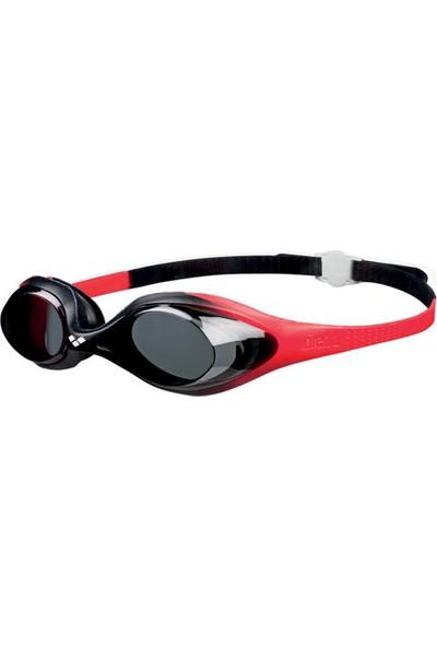 Arena Spider Jr Yüzücü Gözlüğü Siyah Kırmızı
