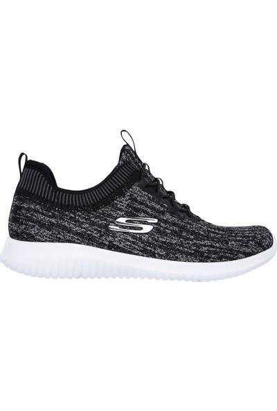 Skechers Ultra Flex - Bright Horizon Koşu & Yürüyüş Kadın Ayakkabı Siyah Gri