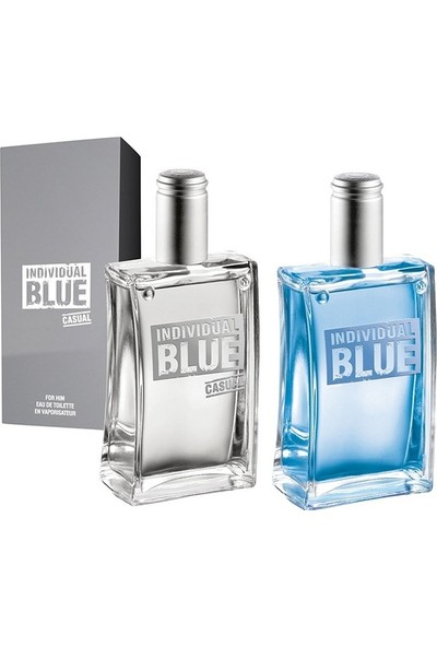 Avon Individual Blue 100 ml. Edt Erkek Parfüm + Individual Blue Casual For Him Edt - 100ml.