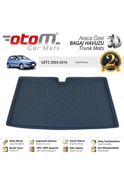 Otom Hyundai Getz 2003-2016 Araca Özel Bagaj Havuzu