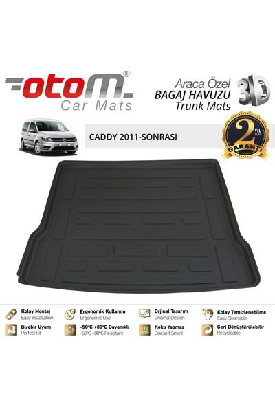 Otom Volkswagen Caddy 2011-2019 Araca Özel Bagaj Havuzu (Koltuklu Van)