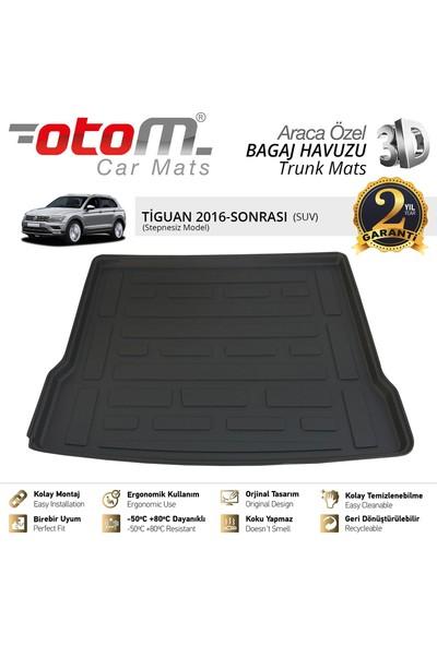 Otom Volkswagen Tiguan 2016-2019 Araca Özel Bagaj Havuzu (Stepnesiz Trendline)