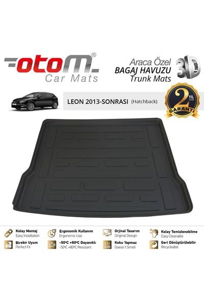 Otom Seat Leon 2013-2019 HB Araca Özel Bagaj Havuzu