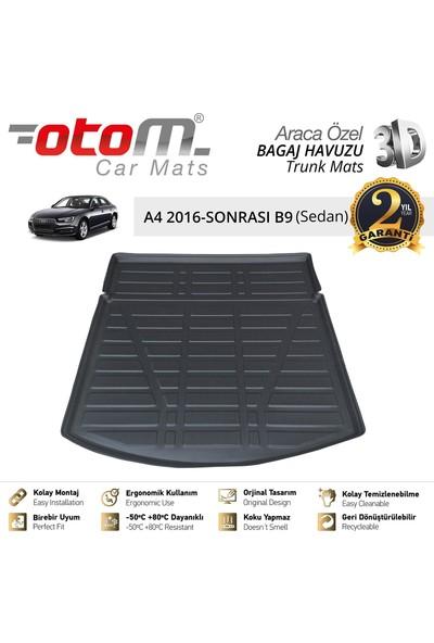 Otom Audi A4 2016-2019 B-9 Sedan Araca Özel Bagaj Havuzu