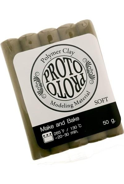 Kiddy Clay Proto Polimer Kil 50 Gram Koyu Yeşil Zeytin Rengi