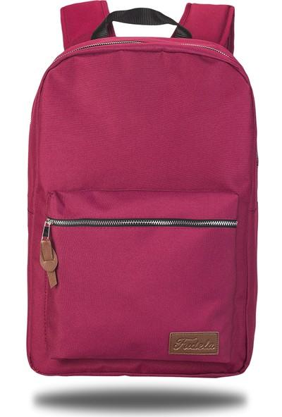 Fudela INQ Burgundy Backpack