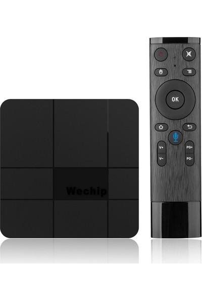 Wechip V8 Plus 2GB Ram+16GB Rom Ses Kontrollü Android 7.1 Tv Box